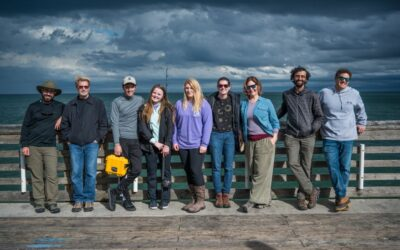 ECU Students Visit Beach for First OBX Semester Experience Field Trip