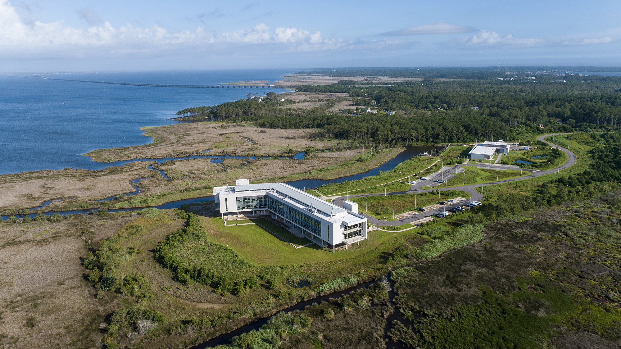 The ECU Outer Banks Campus on Roanoke Island.