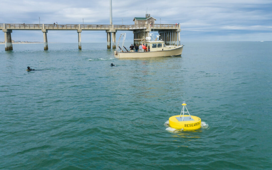 Research Buoy Recently Deployed Off Of Jennette's Pier