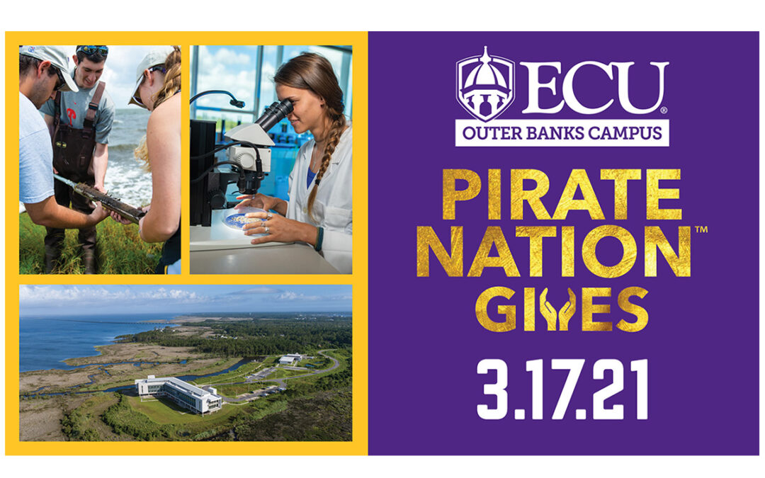 Pirate Nation Gives, ECU Day of Giving, Happening March 17