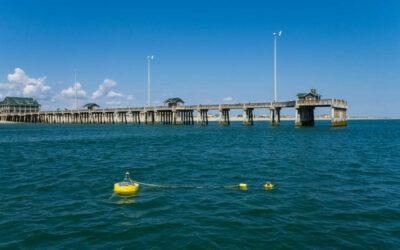 Jennette's Pier and CSI Use Spotter Buoys to Enhance Wave Energy Development