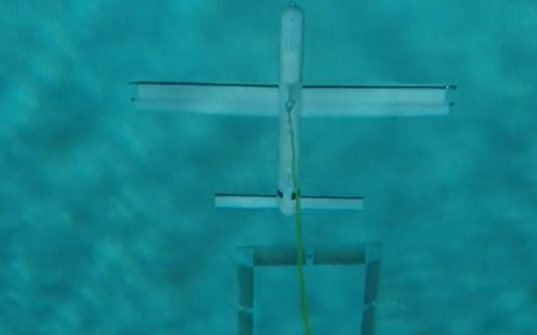 NCROEP Researchers From NC State CORE Lab Test Underwater Kites